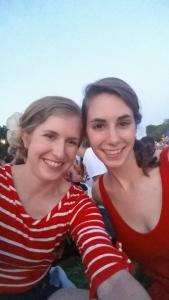 July 4th with my new roomie!
