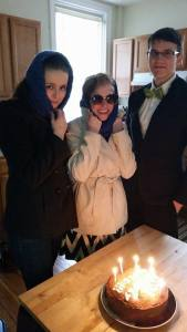 Celebrated my 24th birthday by being spies!